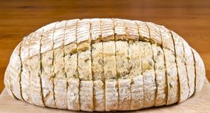 Pre-sliced Bread Close Up Royalty Free Stock Images