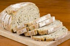 Pre-sliced Bread Close Up Stock Photo