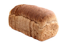 Pre sliced bread Stock Photo