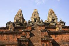 Pre templo de Rup, área de Angkor, Siem Reap, Cambodia Imagem de Stock