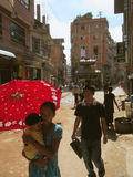 Pre terremoto Katmandu Nepal Imagen de archivo