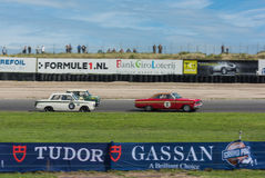 Pre 66 Touring Car Race Royalty Free Stock Image
