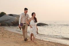 Pre wedding outdoor romantic Stock Photography