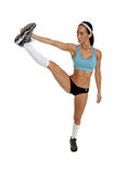 Pre Workout Stretching Stock Images
