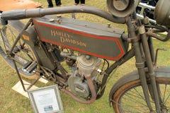 Pre-world war 1 american motorcycle fuel tank Royalty Free Stock Photos