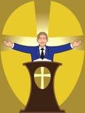 preacher Fotografering för Bildbyråer