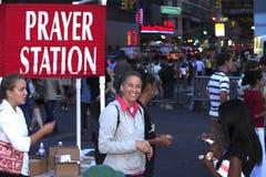 Preacher för öppen luft Fotografering för Bildbyråer