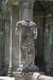Preah可汗寺庙在吴哥窟 免版税图库摄影
