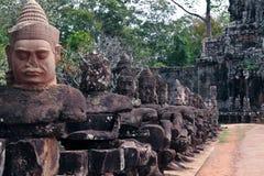Preah可汗 免版税库存照片