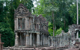 Preah kahn 免版税库存图片