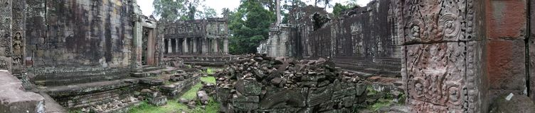 Preah Kahn temple, Cambodia Royalty Free Stock Photos