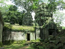 Preah Kahn temple, Cambodia Royalty Free Stock Photography