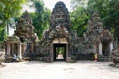 preah khan świątynia Zdjęcia Stock