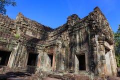 Preah Khan świątynia, Siem Przeprowadza żniwa Zdjęcia Stock