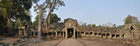 Preah Khan Royalty Free Stock Images