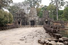 Preah khan Imagem de Stock Royalty Free