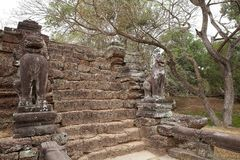 Preah  Khan Royalty Free Stock Photo