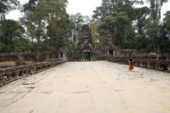 Preah khan Lizenzfreie Stockfotos