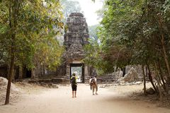Preah khan Lizenzfreie Stockfotografie