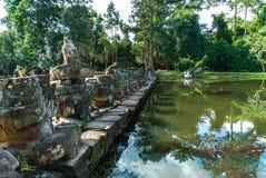 Preah khan stockbild
