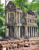 Preah Khan in Angkor Stock Photo