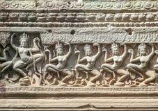 Preah Khan in Angkor Stock Image