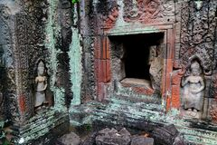 Preah Khan in Angkor Stock Photo