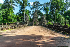 Preah khan Stock Image