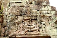 Preah Khan  in Cambodia Stock Images