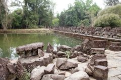 Preah  Khan Stock Photo