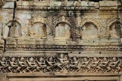 Preah Khan em Cambodia imagem de stock