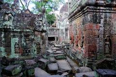 Preah Khan en Angkor, Camboya Imagenes de archivo