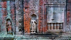 Preah Khan en Angkor de Camboya Foto de archivo