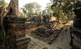 Preah Khan Panorama images stock