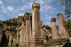 Preah Khan ruins in Siem Reap, Cambodia Royalty Free Stock Photography