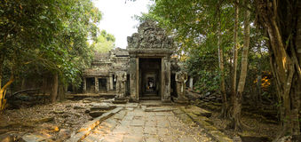 Preah Khan South Gate Royaltyfri Bild