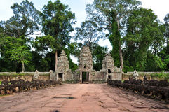 Preah Khan Temple at Angkor,Cambodia Stock Images