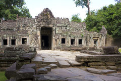 Preah khan temple, angkor, cambodia Stock Photography