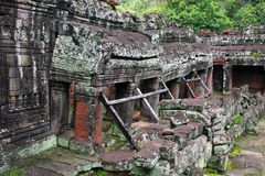Preah Khan Temple. Angkor, Siem Reap. Cambodia. Stock Photo