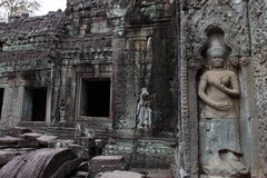 Preah Khan Temple in Angkor Stock Image