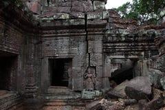 Preah Khan Temple in Angkor Stock Photo