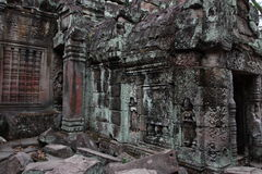 Preah Khan Temple in Angkor Royalty Free Stock Photography