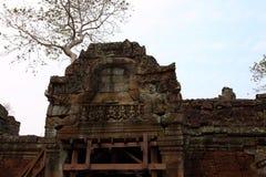 Preah Khan Temple in Angkor Stock Images
