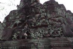 Preah Khan Temple in Angkor Royalty Free Stock Photos