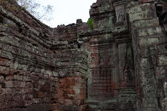 Preah Khan Temple in Angkor Stock Photos