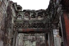 Preah Khan Temple in Angkor Stock Images