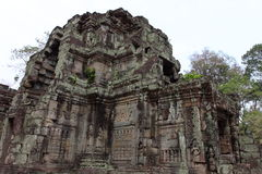 Preah Khan Temple in Angkor Royalty Free Stock Images
