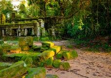 Preah Khan Temple, Angkor, Siem Reap,  Cambodia. Royalty Free Stock Images