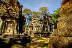 Preah Khan Temple, Angkor, Siem Reap,  Cambodia. Royalty Free Stock Photo