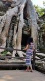 Ta Prohm, Angkor, Siem Reap Royalty Free Stock Image